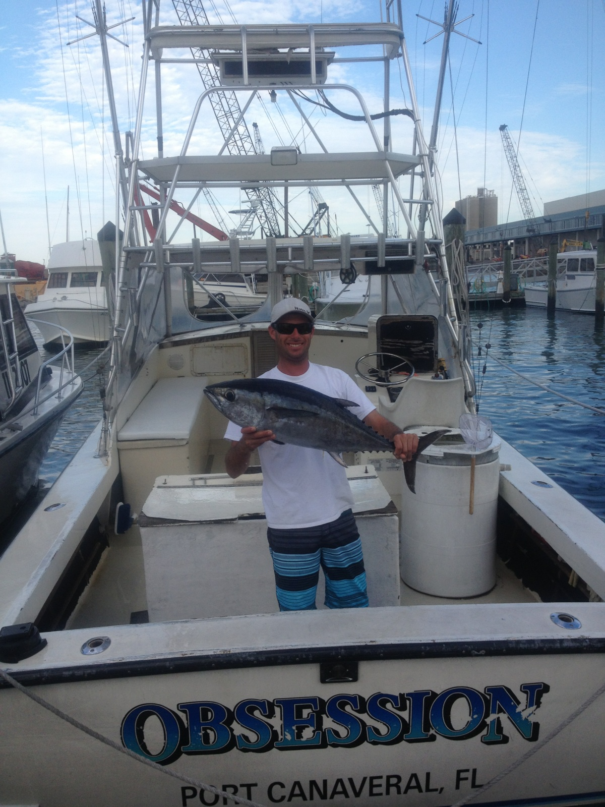 Kingfish Bite & A Couple Blackfin Tunas – Port Canaveral, FL