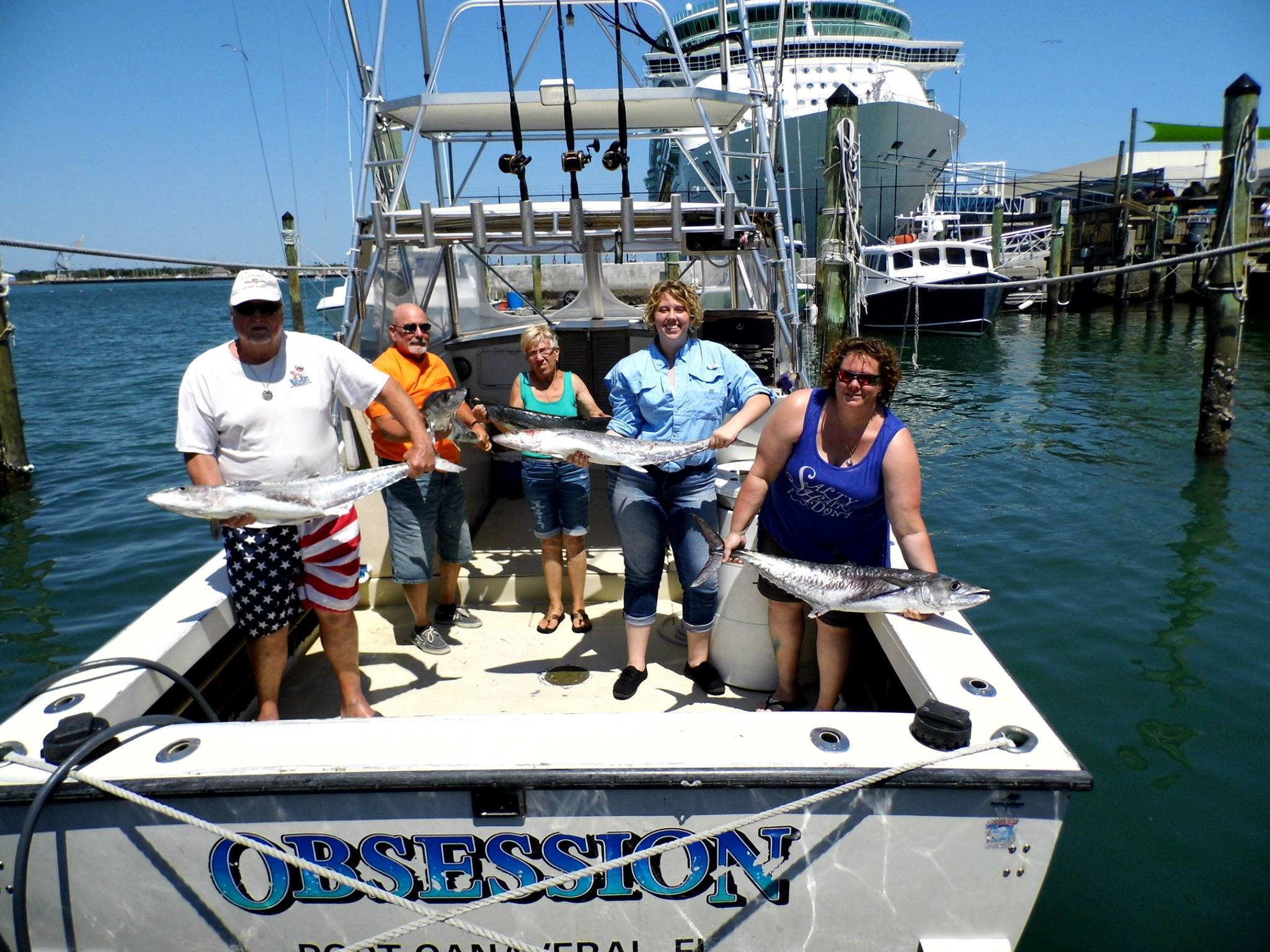 Port canaveral sportfishing charter orlando deep sea for Deep sea fishing long beach