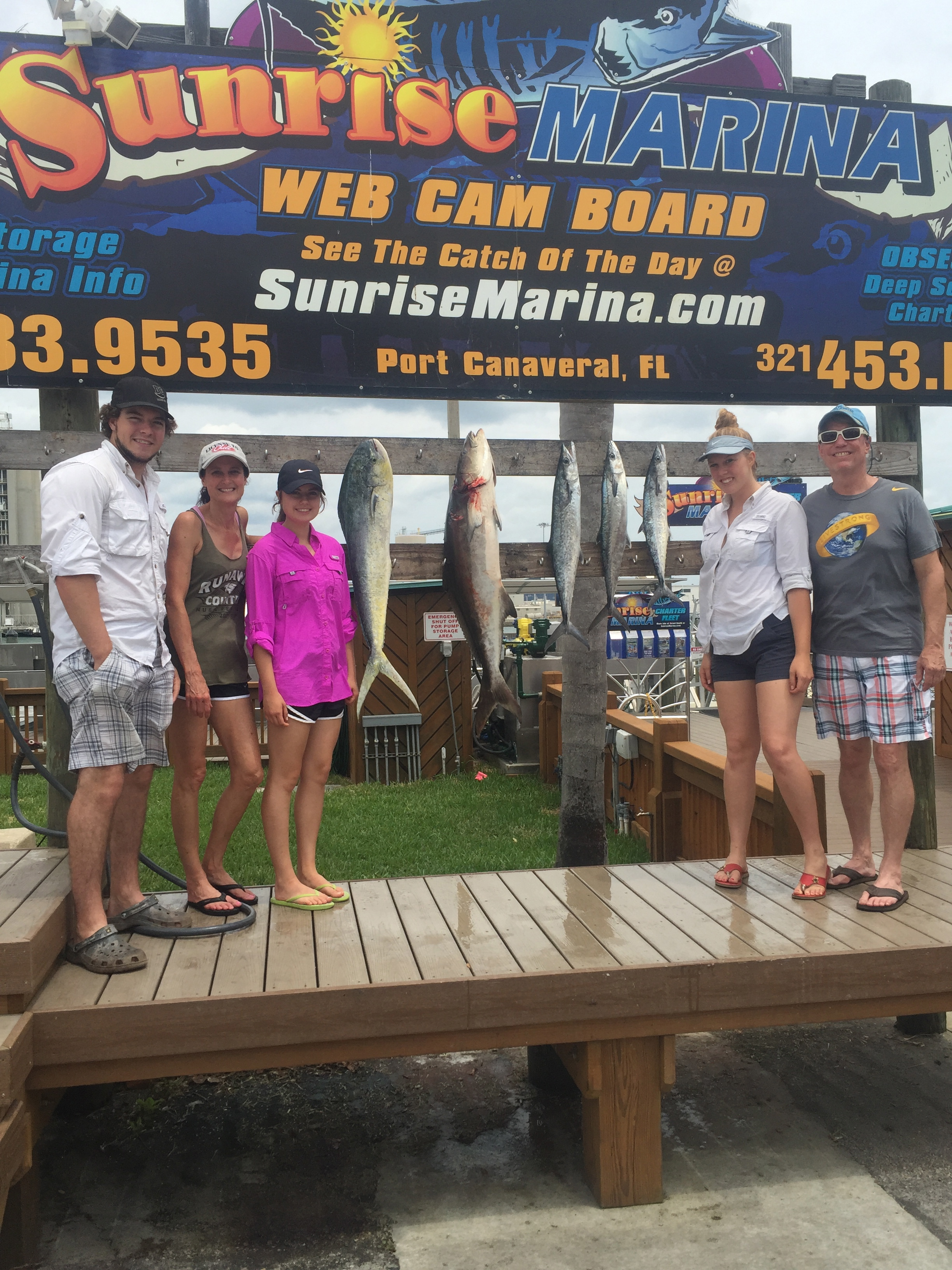 Half Day Charter – Long and Hays Family – May 13th, 2017